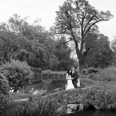 Wedding photography at Nailcote Hall Warwickshire